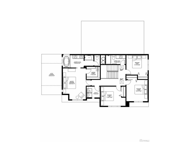 upstairs plan